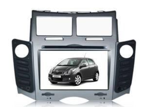 2 DIN Car DVD Player With GPS for Toyato Yaris
