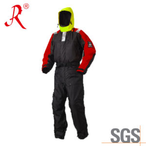 Waterproof Thermal Fishing Flotation Suit for Sale (QF-9089) pictures & photos