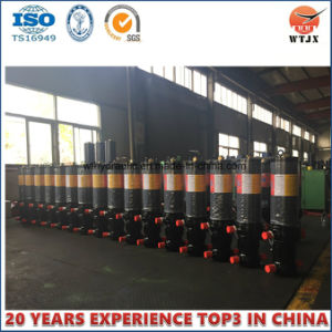 Multi Stage Telescopic Type Hydraulic Cylinder Used for Tipping Truck and Dump Truck pictures & photos