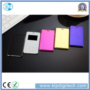 H3 Card Phone TFT Touching Solution, Mini Pocket Cellphone pictures & photos