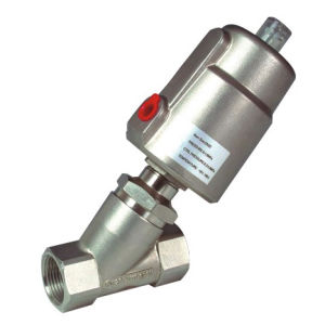 Angle Seat Valve with SS Actuator (RJQ22) pictures & photos