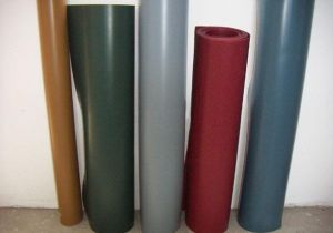 Cloth Insertion Rubber Sheet (woven cloth insertion)