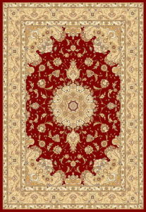 Machine Made PP Persian Rug (High Density)