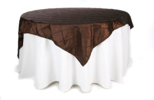 Pintuck Table Cloth, Table Linen Wedding Table Cover