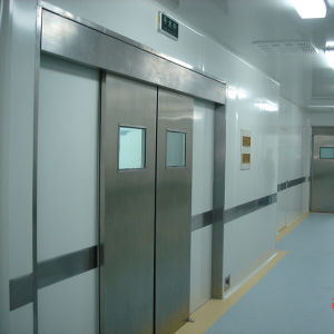 Hermetic Door for Hospital, Sealed Airtight Door with Shielding Down Function pictures & photos