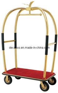 Hotel Bellman Luggage Cart (DF41) pictures & photos