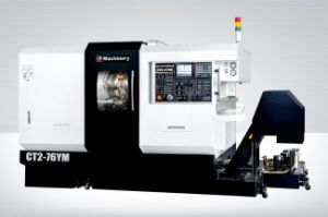 CT2-52ym Turning & Milling Center (CNC Lathe) Twin Spindle & Twin Turret