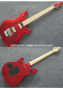 Metallic Red Paiting Arched Body Top Quality Electric Guitar pictures & photos