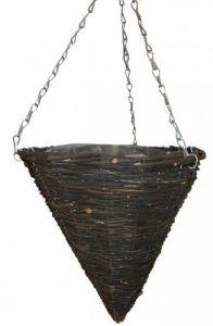 Natural Wicker Round Garden Hanging Basket pictures & photos