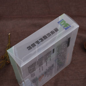 Silver Hot stamping Plastic PVC Folding box with your branding (gift bag) pictures & photos