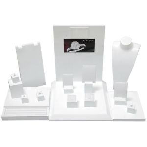 High Gloss White Jewelry Wooden Display pictures & photos