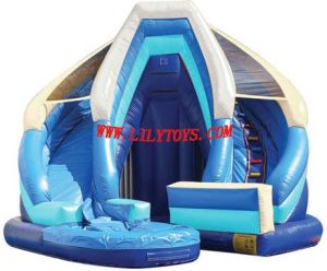 Inflatable Blue King Slide (LILYTOYS-SL-04JO) pictures & photos