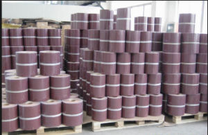 Flexible Coated Abrasive Cloth Shop Roll for Abrasive Tool