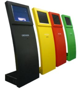 Interactive Touch Kiosk Frame (HY-WEP01)