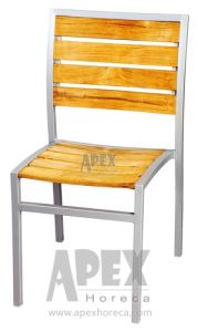Outdoor Teak Chair Cafe Furniture Aluminum Side Chair pictures & photos