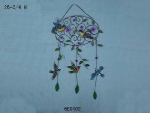 Wind Chime, Bird Craft, Staind Glass (GE0102)