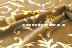 Flocking Synthetic Leather (HK-GW-79)