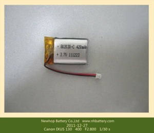 802030 Rechargeable 3.7V Lithium Polymer Battery 420mAh