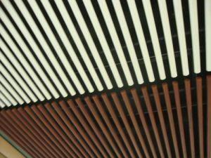 Irregular Aluminum Suspended Strip Screen Ceiling Series