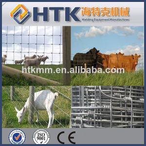 Cheap Knotted Animal Wire Mesh Fence