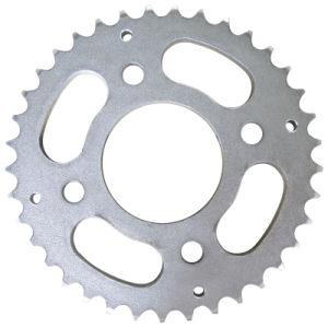 Motorcycle Sprocket/Rear/Zinc/428 pictures & photos