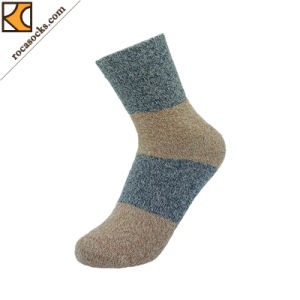 Unisex Cotton Stripe Cushion Socks (162033SK) pictures & photos