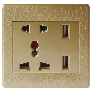 Decoration Smart Home Power Socket Outlet (N7)