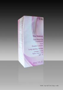 Paper Cosmetic Box (SG-CB07)