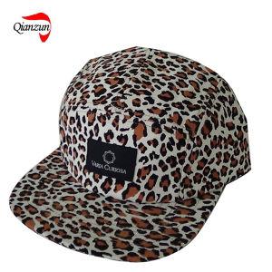 Leopard Corduroy 5 Panel Hats pictures & photos