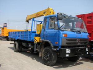20t Truck With Crane With Cummins Engine