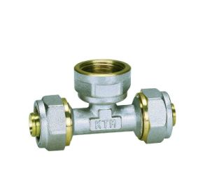 Brass Pipe Fittings Female Tee (Hz8011) pictures & photos