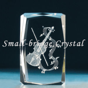 Crystal 3D Violin