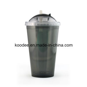 Double Wall Plastic Paper Insert Cup (KD-814)