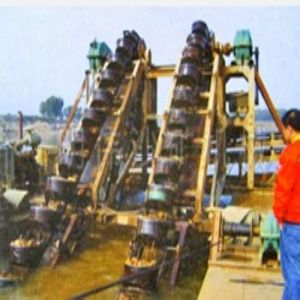 Double Chain Bucket Sand Dredging Vessel