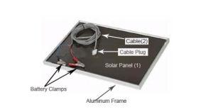 Amorphous Solar Panel (OB-A5W)