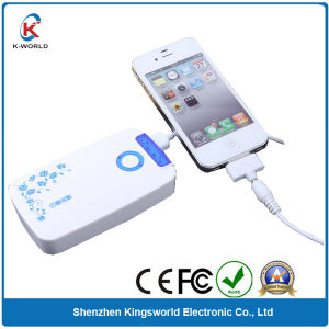 Plastic 10000mAh Power Bank with Double USB Port