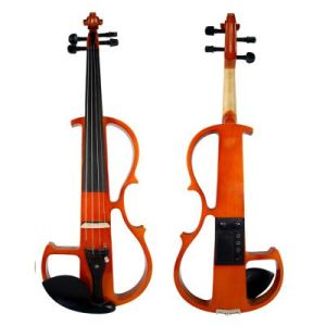 All Solid Colorful Wholesale Electrical Violin pictures & photos
