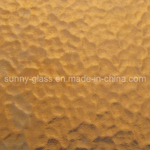Brown Color Patterned Glass pictures & photos