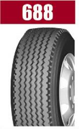 Heavy Load Brand Radial Truck Tire 688