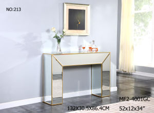 Customized Special Console Mirror Table for Living Room pictures & photos