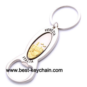 Souvenir Custom Metal Bottle Opener Key Chain (BK52128) pictures & photos