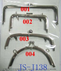 Silver Plated Metal Handbag Frame (JS-J138)