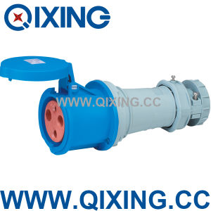 Cee 63A 3p 230V Industrial Coupler (QX1237) pictures & photos
