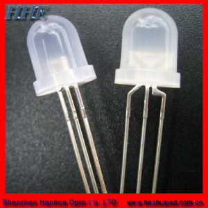 8mm Bi-Color Round With Flange LED Diode (CE&RoHS)