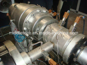 PVC Foaming Pipe Extrusion and Production Line pictures & photos