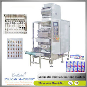 High Speed Shampoo Sachet Forming Filling Sealing Machine pictures & photos