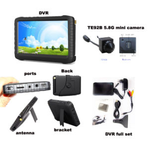 """5.8GHz Wireless Camera with 5 Inch DVR Monitor No Blue 5"""" Screen pictures & photos"""