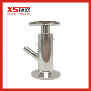 50.5mm Stainless Steel SS304 Hygienic Sanitary Tri Clamp Sample Valves pictures & photos