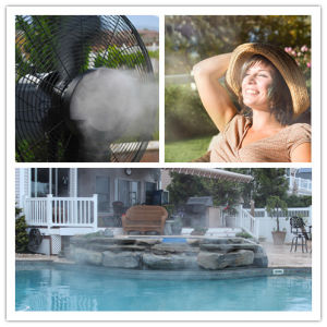 Floor Standing Centrifugal Outdoor Mist Fan pictures & photos