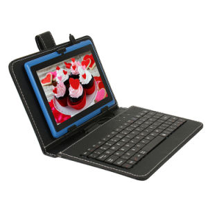 China Factory 7 Inch Android Tablet with Keyboard Case Blue pictures & photos